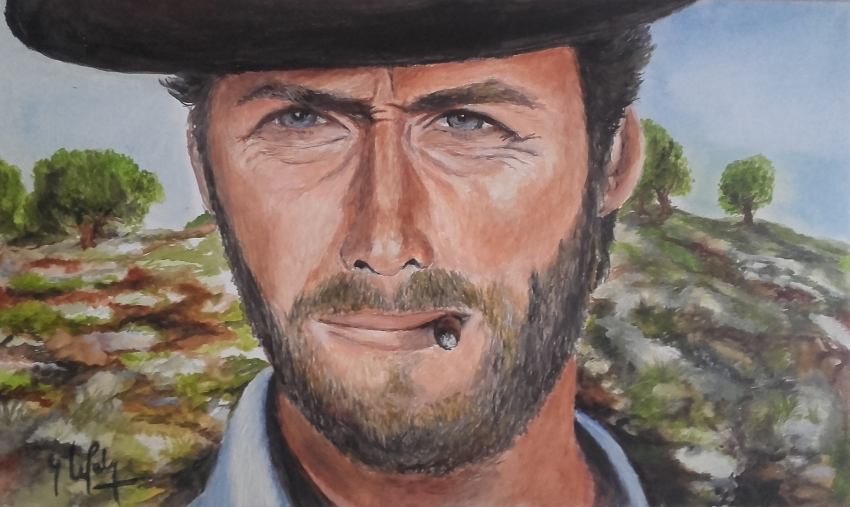 Clint Eastwood by lpc